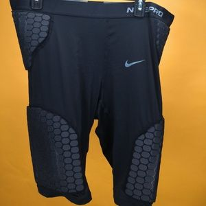 Nike Pro Men protector combat shorts sz 3XL black